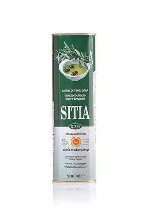 Масло оливковое Extra Virgin Sitia 500г.