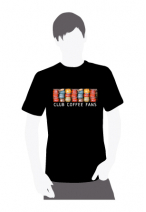 Мужская футболка черного цвета