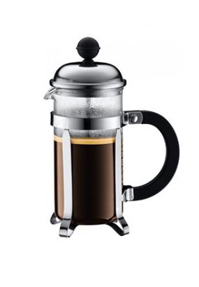 Кофейник с прессом Chambord, 0,35 л, цвет черный